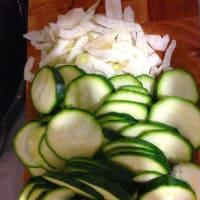 Foto preparazione Vellutata zucchine finocchi