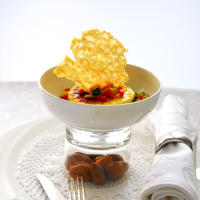 Ricetta correlata Pudding parmesan cheese with almonds
