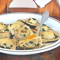 Ricetta correlata pumpkin and chestnut ravioli: autumn bouquet