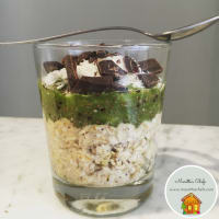 Ricetta correlata Overnight oatmeal kiwi, coconut and chia seeds