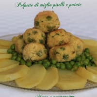 Ricetta correlata Meatballs miles peas and potatoes