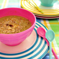 Ricetta correlata Summer Onion soup and potatoes with hazelnuts