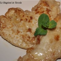 Ricetta correlata Escalope of chicken breast with sweet paprika and nutmeg nut