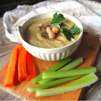 Ricetta correlata Hummus chickpea and tahini