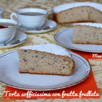 Ricetta correlata Spongy cake with pureed fruit