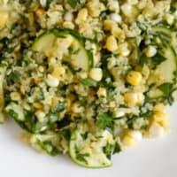 Ricetta correlata Quinoa zucchini and chickpeas