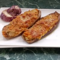 Ricetta correlata stuffed eggplant