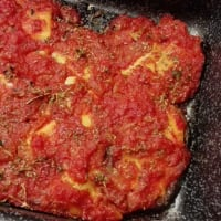 Ricetta correlata Seitan with tomato sauce