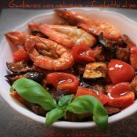 Ricetta correlata King prawns with eggplant Poppet