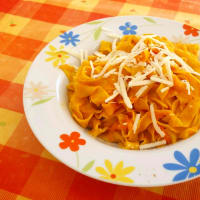 Ricetta correlata Pasta orange yellow and red