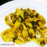 Ricetta correlata Noodles turn to the spicy vegetables