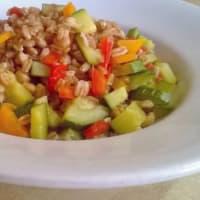 Ricetta correlata Insalata di farro con verdure