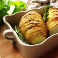 Ricetta correlata Hasselback potatoes
