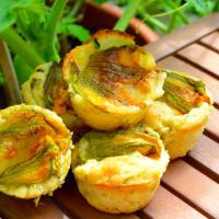 Ricetta correlata Savory zucchini muffins to all