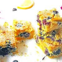 Ricetta correlata Torta di polenta con limone e mirtilli