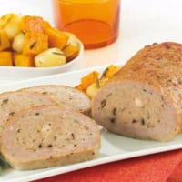 Ricetta correlata turkey roulade with potatoes and pumpkin