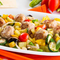 Ricetta correlata Ratatouille with meatballs