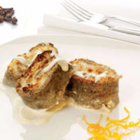 Ricetta correlata Roll the crepes with chicken mousse and truffle