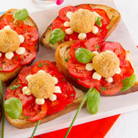Ricetta correlata Bruschetta bread with meatballs