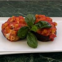 Ricetta correlata Eggplant stuffed pasta