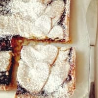 Ricetta correlata Tart with jam and rice flour
