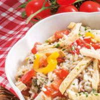 Ricetta correlata Rice with chicken and vegetables