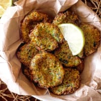 Ricetta correlata Frittelle di zucchine vegan
