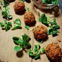 Ricetta correlata Meatballs crudiste carrots with exotic fresh salsa