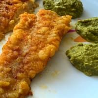 Ricetta correlata Cod fillet with green beans mousse