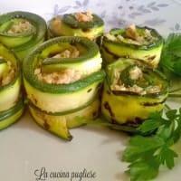 Ricetta correlata Rolls of zucchini and tuna