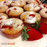 Ricetta correlata Muffin with strawberries, fluffiest and delicious
