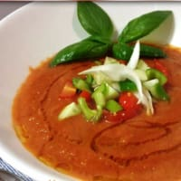 Ricetta correlata Gazpacho with tomato pulp