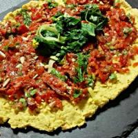 Ricetta correlata Finta pizza di cavolfiore e ceci