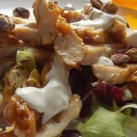 Ricetta correlata Tagliata di pollo con pistacchi e salsa delicata