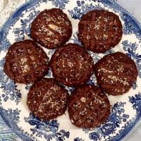 Ricetta correlata Cookies vegani al cioccolato e cocco