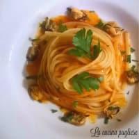 Ricetta correlata Pasta with mussels tarantina
