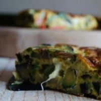 Ricetta correlata Frittata alle verdure con cuore filante