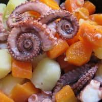 Ricetta correlata Insalata di polpo, carote, patate e zenzero