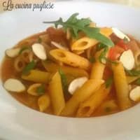 Ricetta correlata Penne with spicy arugula and almonds
