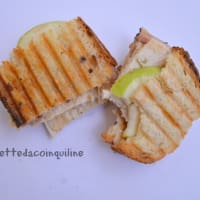 Ricetta correlata Sandwich with grilled chicken and crunchy green apple