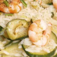 Ricetta correlata Risotto with zucchini and shrimp