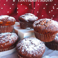 Ricetta correlata Muffin with chocolate and white chocolate