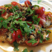 Ricetta correlata Roasted peppers with tapenade