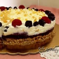 Ricetta correlata Cheesecake doppio strato lamponi more e zenzero