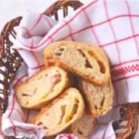 Ricetta correlata Rotolo rustico semi integrale con formaggi e bacon