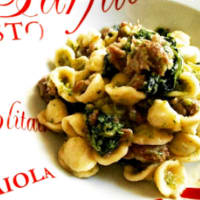 Ricetta correlata Orecchiette with broccoli rabe and sausage