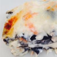 Ricetta correlata Lasagne with squid with salmon Black