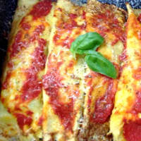 Ricetta correlata Crepes with zucchini and anchovies