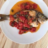 Ricetta correlata Sea bream to 'acquapazza