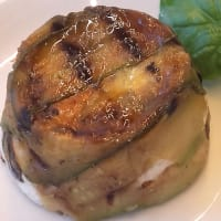 Ricetta correlata Timbale of zucchini with ricotta and smoked salmon hearts